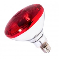 Лампа инфракрасная BR38 100 Вт красн. окраш.