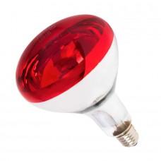 Лампа инфракрасная R125 100 Вт красн. окраш.