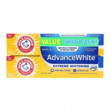 Arm & Hammer, Advance White, Extreme Whitening Toothpaste, Clean Mint, Twin Pack, 6.0 oz (170 g)