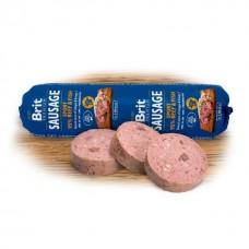 Brit Premium Sausage Sport beef and fish колбаса для активных собак с говядиной и рыбой, 800г