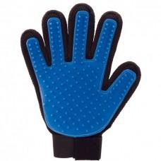 Расчеcка-перчатка для вычесывания шерсти, резиновая, 16 × 24 см