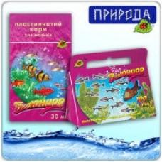 Природа БиоЮниор пластинчатый корм для молодых рыб, 100мл