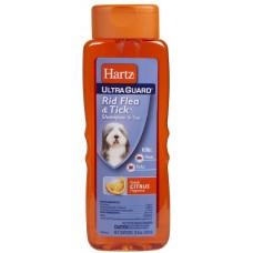 Hartz Шампунь для собак от блох и клещей с ароматом цитруса