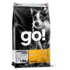 GO! SENSITIVITY + SHINE Для Щенков и собак с цельной уткой и овсянкой (Duck Dog Recipe) (22/12)