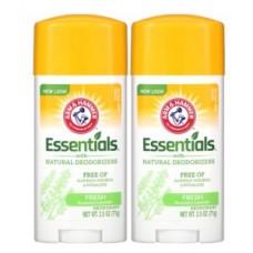Arm & Hammer, Essentials с натуральными дезодорирующими компонентами, дезодорант, свежий розмарин и лаванда, 28 г