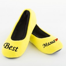 Тапочки балетки Best Мама