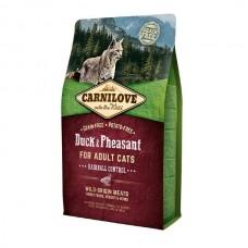 Сухой корм Carnilove (Карнилав) Cat с уткой и фазаном 0,4 кг