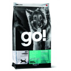 GO!™ Fit + Free Grain Free All life Stages 34/16 / Для щенков и взр. собак беззерновой - 4 вида мяса / 11,34кг