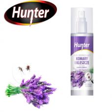 Натуральный спрей от комаров и клещей Hunter
