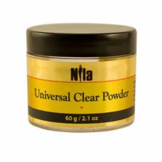 Nila Universal Cover Pink Powder - камуфлирующая розово-бежевая акриловая пудра, 60 г