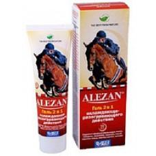Алезан Крем-гель 2 в 1 охлаждающе - разогревающего действия для лошадей 100 г