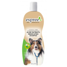 ESPREE (Эспри) ALOE OATBATH MEDICATED SHAMPOO Шампунь для собак при начальных стадиях себореи 591мл
