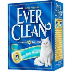 Ever Clean AQUA BREEZE SCENT 10 л - комкующийся наполнитель для кошачьего туалета