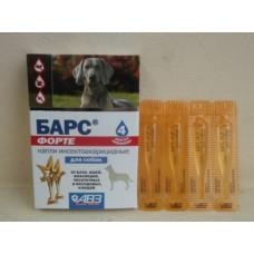 Краплі Барс інсектоак. д/собак піп №4 (АВЗ)