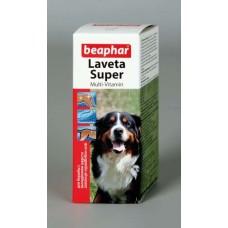 Beaphar Laveta Super - жидкие витамины для шерсти для собак 50 мл