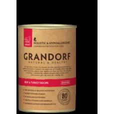 GRANDORF консервы для собак с Говядиной и Индейкой