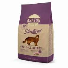 ARATON STERILISED Adult All Breeds 1,5кg для стерилизованных кошек