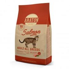ARATON SALMON Adult All Breeds 1,5kg для взрослых кошек