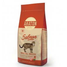 ARATON SALMON Adult All Breeds 15kg для взрослых кошек