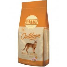 ARATON OUTDOOR Adult All Breeds 15kg  для  взрослых кошек
