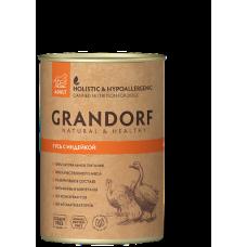 GRANDORF консервы для собак с Гусем и Индейкой