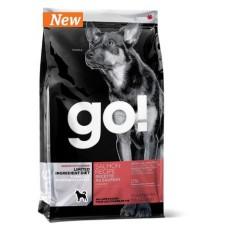 GO! Sensitivity + Shine Salmon Dog Recipe, Grain Free, Potato Free. Полнорационный сухой Беззерновой корм для щенков и собак с лососем для чувствительного пищеварения. 11,34 кг