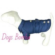 Плащ для собак Dogs Bomba K-15 / 2 темно cиний