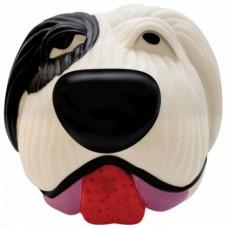 Іграшка для собак вініл Біло-чорна собака арт.611